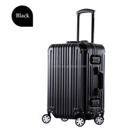 21 inch black aluminum suitcase with super quality from Chongqing