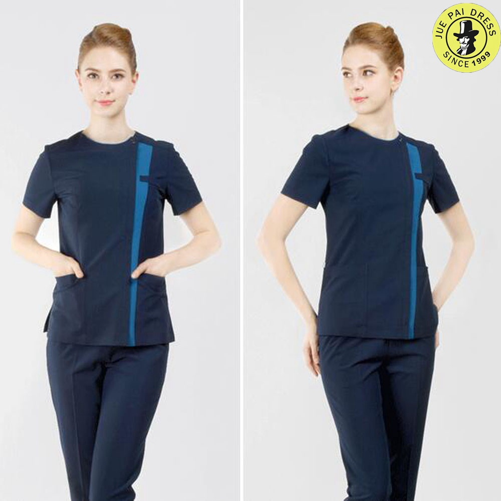Hospital Dental Clinic Medical Scrubs Uniform Beauty Parlor Ladies' tunic