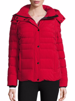 Concealed snap closure with zipper Women Down Jacket for 2016 clothing