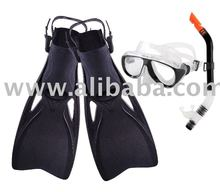 C841283 Fins Mask and Snorkel Combo Set