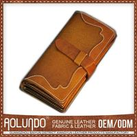 Customizable Leather German Wallet