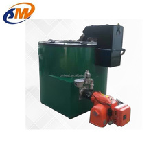 Gas diesel oil Fired Aluminum melting furnace 100 ~ 500 kg