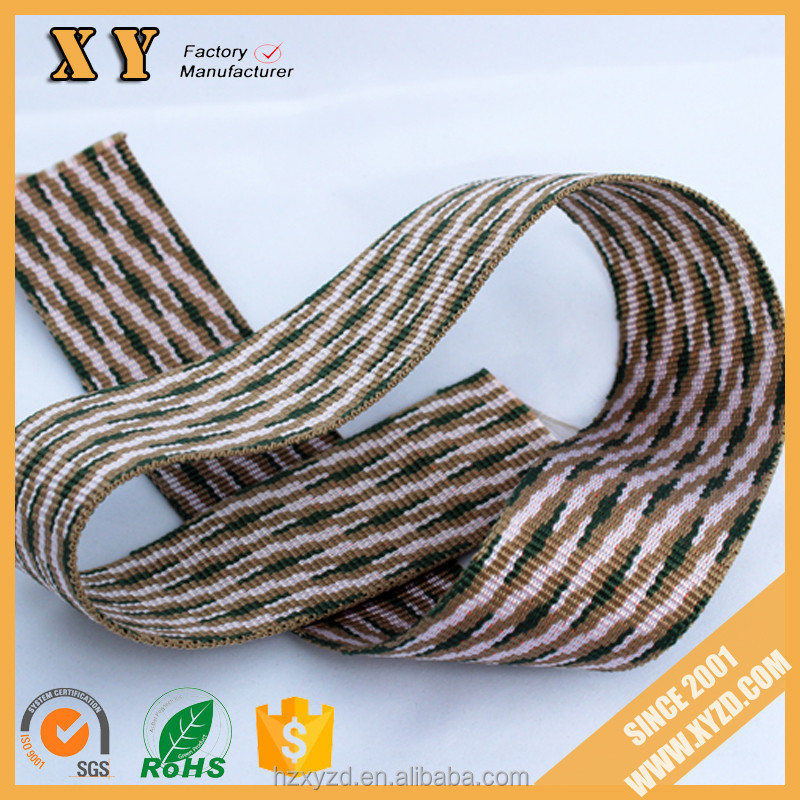 popular jacquard elastic band webbing weaving supplier and manufacturer