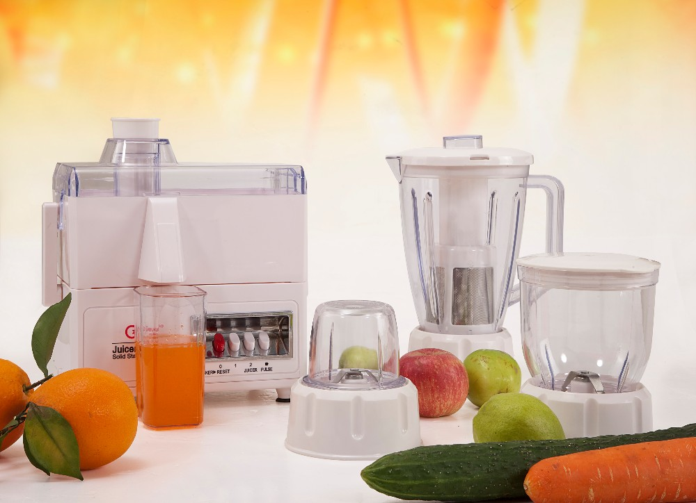 Geuwa global hot sale professional powerful 4-in-1 food processor KD-380A