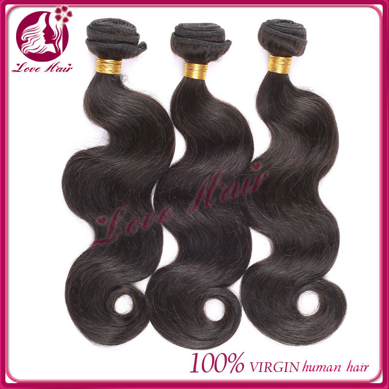 AAAAA Grade Quality Unprocessed Brazilian Weaving Human Hair Import