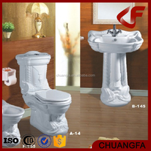 Bathroom ware European style ceramics water closet big size AB-145