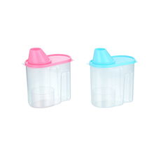 Cheap wholesale clean colorful plastic salad container