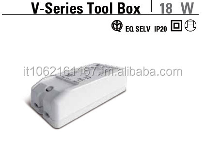 Led power supplies V-Series Tool Box 18 W from Gitronica