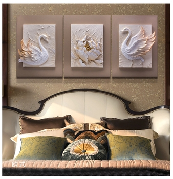 100% Handmade New Design 3d Wall Resin Decor Relief Wall Art Painting