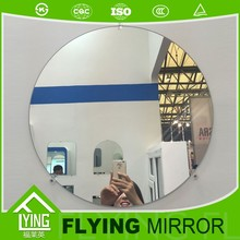 5mm copper-free and lead-free silver mirror for hotel and beauty salon