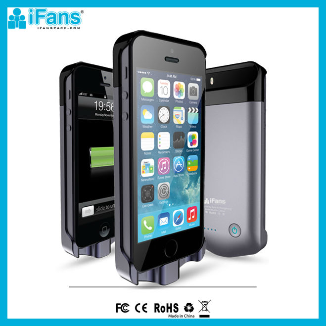 2400mah Promotion battery case for ip5 charger for iPhone5 5s