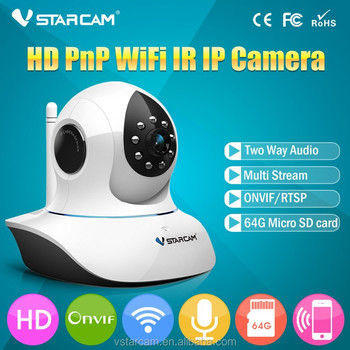 VStarcam Plug Play H.264 C7838WIP p2p Camera IP ONVIF Multi-stream WPS Wireless HD Megapixel WIFI IP Camera