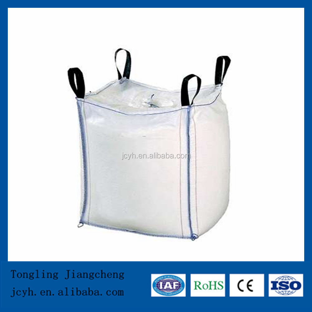 Bulk bag 5:1 Safety Factor and UV Feature cross corner loop FIBC bulk bag