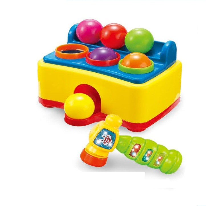 educational toys hammer pounding ball table with music for kids