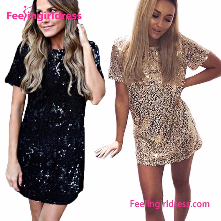 Купить Блестящее Платье Короткое