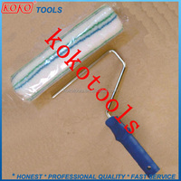 "9"" auto type acrylic polyster roller sleeve with auto grip handle"