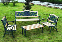 Metal Commercial Cast Aluminium Outdoor Furniture