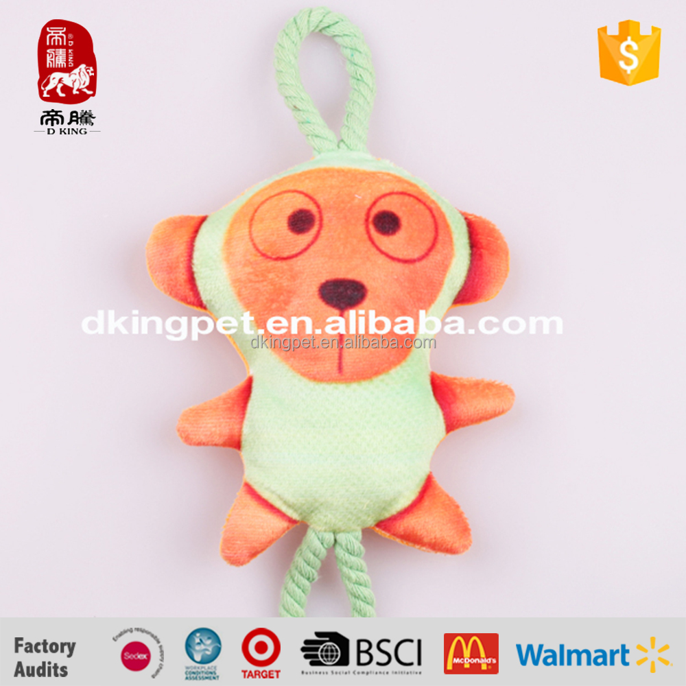 China Supplier Direct Wholesale Lovely New Products Animals Pet Chew Rope Toy