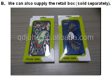 Rubber sublimation phone case for sony z2 l50wh