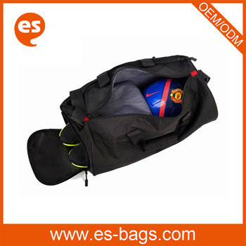 Custom Heavy Duty Duffle Wholesale Gym Bag Sports With Shoe Compartment