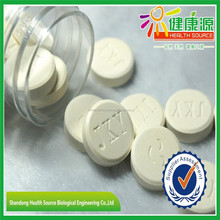 Wholesale food supplement calcium chewing vitamin c chewable tablets private label