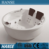 HS-B1574T hot selling 2 person chinese sex circular acrylic bathtub