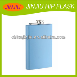 stainless steel hip flask factory with logo
