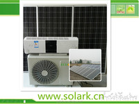 home solar air conditioners 9000-24000BTU solar hybrid wall split air condition