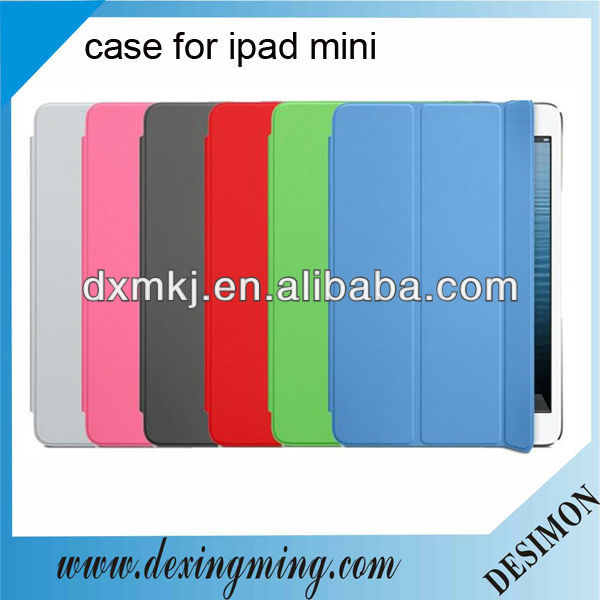 "Magnetic Flip PU Case for Mini iPad 7.9"" Inch Wake up/Sleep free"