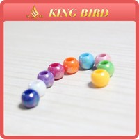 round miracle acrylic beads
