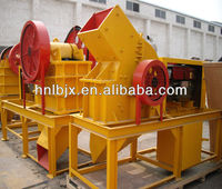 2013 china new type mobile crusher hammer mill model PC400*300 diesel hammer crusher