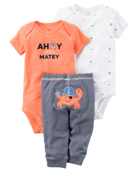 wholesale alibaba 3pcs romper set unisex baby clothes toddler baby clothing