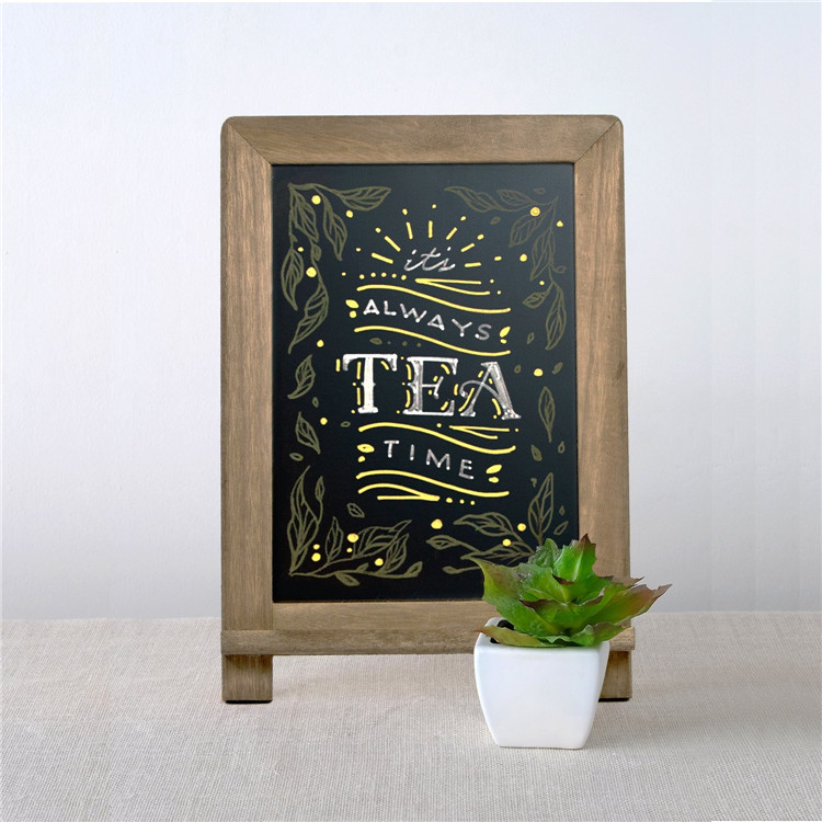 Bar table menu use easy cleaning decorative chalk board