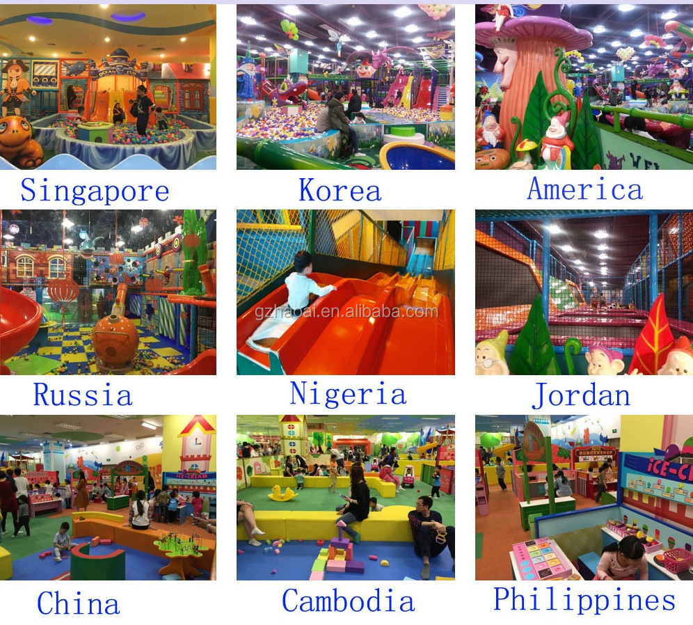 A-15341 Fascinating Children Indoor Playground Equipment for Sale Amusement Park Fencing