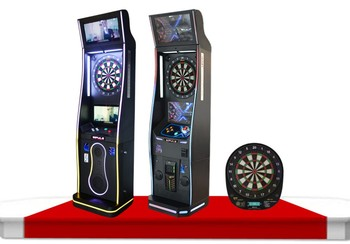 2016 newest coin operated electronic soft tip dart machine for competition