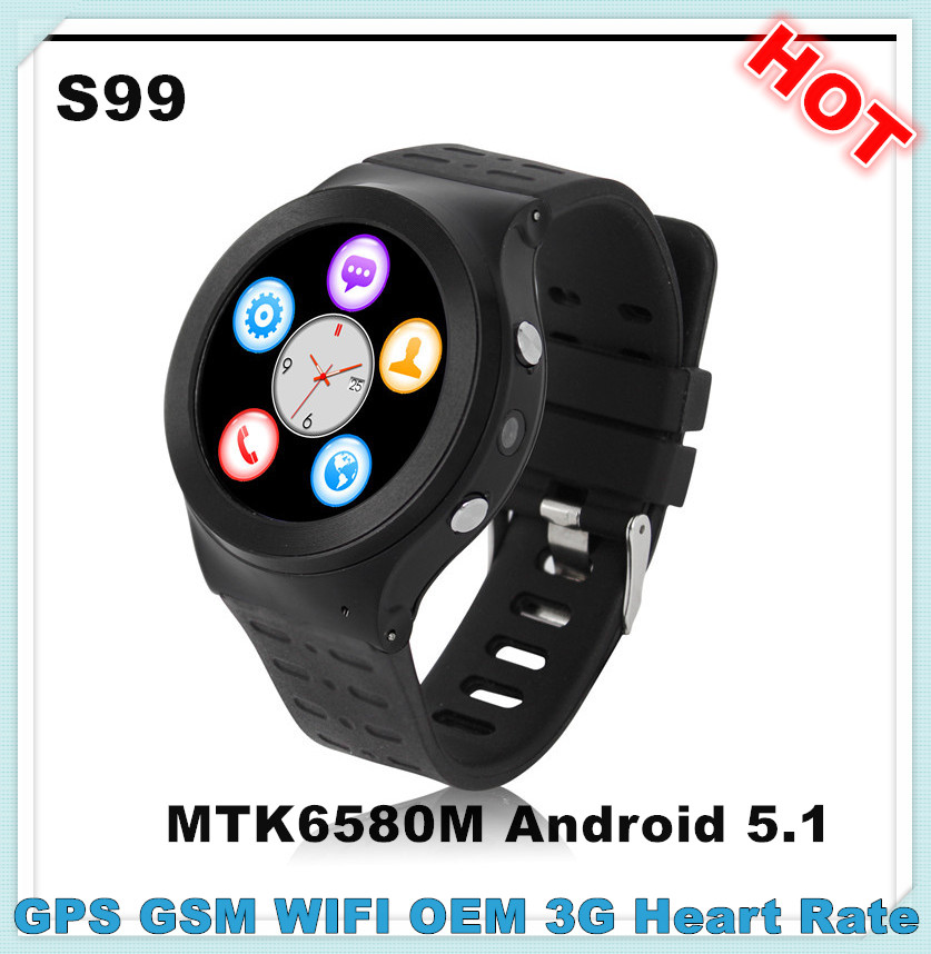 New S99 smart watch waterproof cell phone android watch mobile