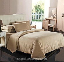 Wholesale bamboo microfiber bed sheet blended fabric by testing with high quality and cheap price