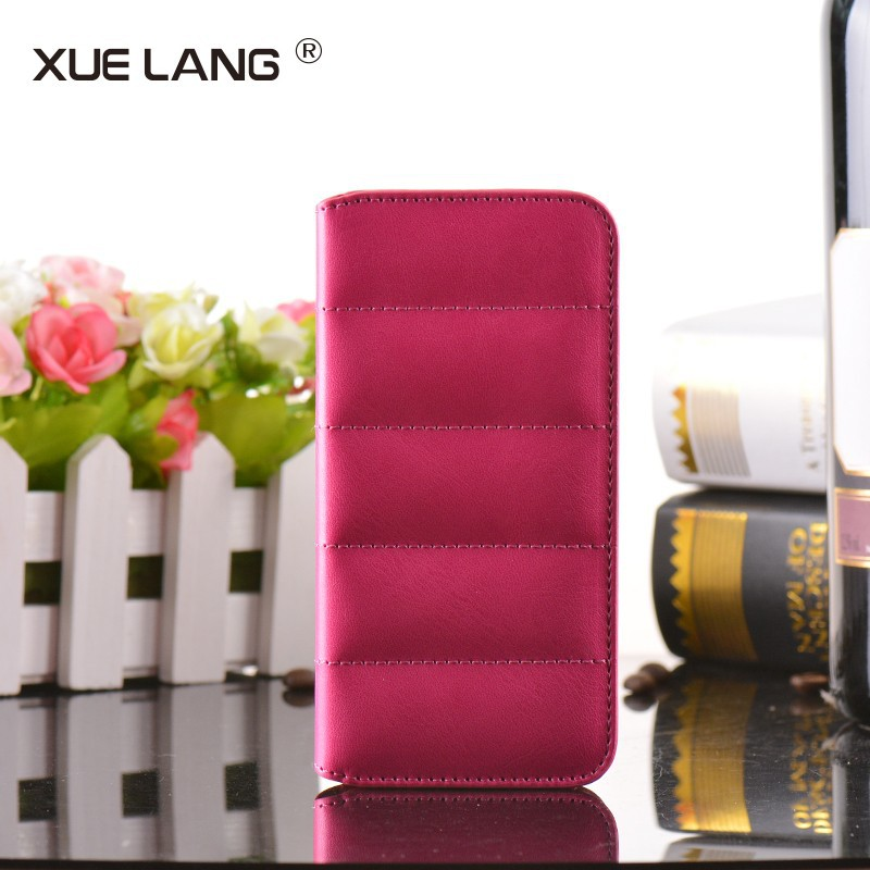Hot selling wallet leather case for iphone 5S case, for apple iphone 5 leather case