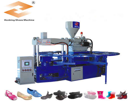 HM-588L single color pvc jelly shoes used injection molding machine