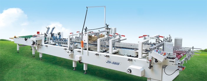 ZH-580S Automatic Folder Gluer machine with Crash Lock Bottom