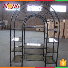 hot sale good quality cheap iron material antique TV stand for sale