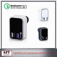 SAA KC certified Quick Charge 3.0 9V 12V USB quick phone charger korea mobile phone accessories from Keyuantai