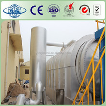 Yongle latest used tyre pyrolysis,scrap tyre recycling machine ,waste tyre to oil recycling pyrolysis machine
