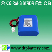 11.1V 1800mAh li-ion battery back vs li-polymer battery with factory price