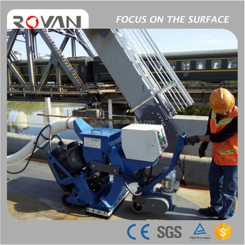 2017 Best quality movable floor surface cleaning equipment for mark line removal
