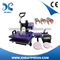 8 in 1 sublimation printing press cheap custom heat transfers lvd HP8IN1