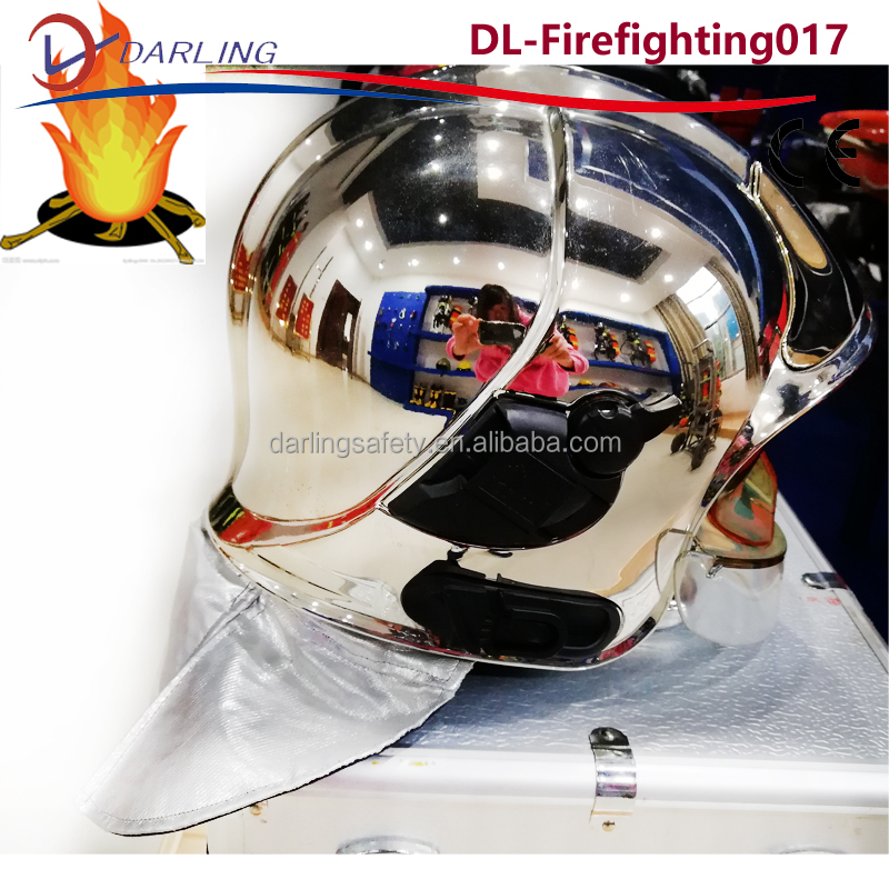 EN443 new design High quality MSA firefighter helmet 260 degree C Heat Resisting Firefighting Safety Helmet