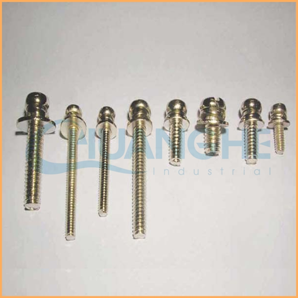 China supplier m3 cross recessed pan head screws combination screw with two washers