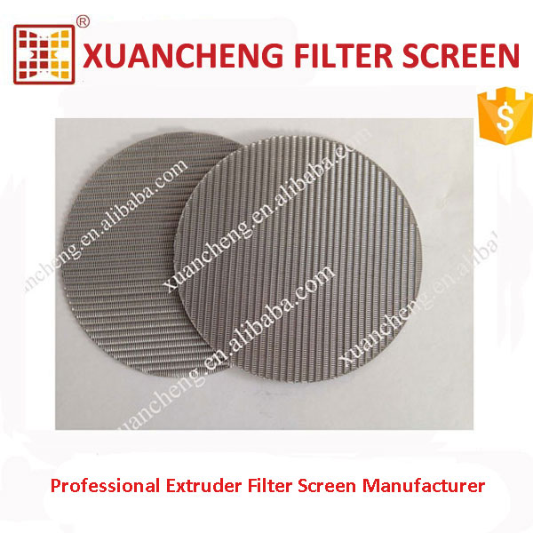 PP Extrusion Use 150 Micron Metal Filter Screen Mesh
