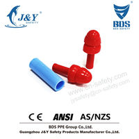Silicone gel noise cancelling workplace earplugs